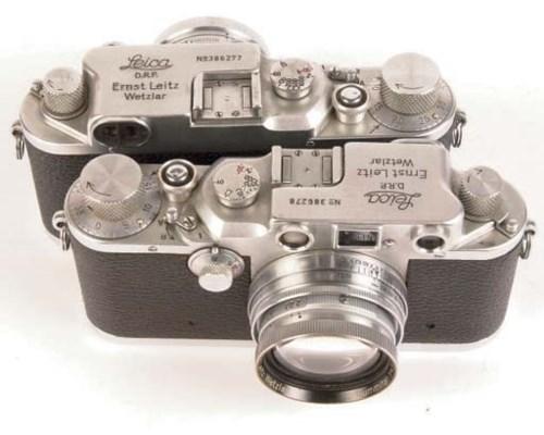 Leica IIIc cameras