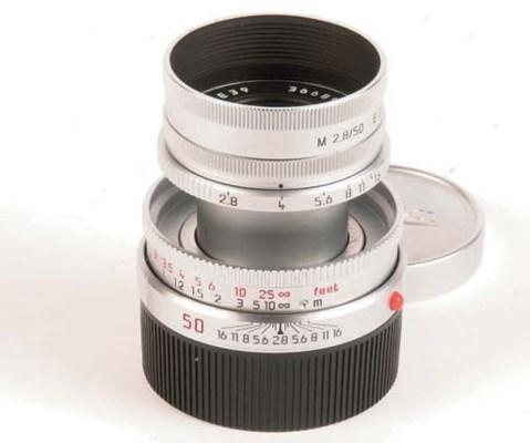 Elmar-M f/2.8 50mm. no. 366896