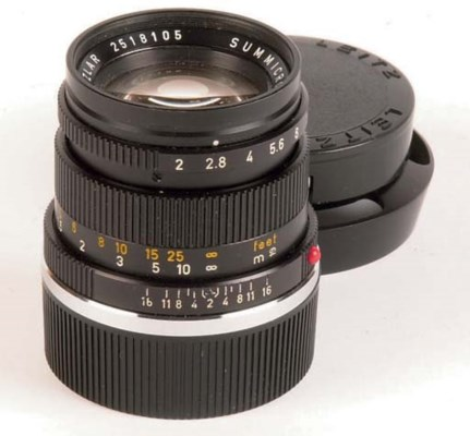 Summicron f/2 50mm. no. 251810