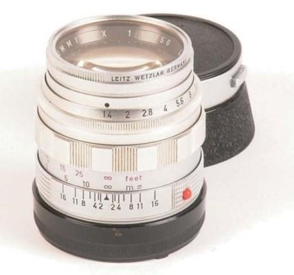 Summilux f/1.4 50mm. no. 18982