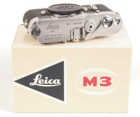 Leica M3 no. 1089407