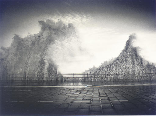 Wave, Scarborough, Yorkshire, England, 1981
