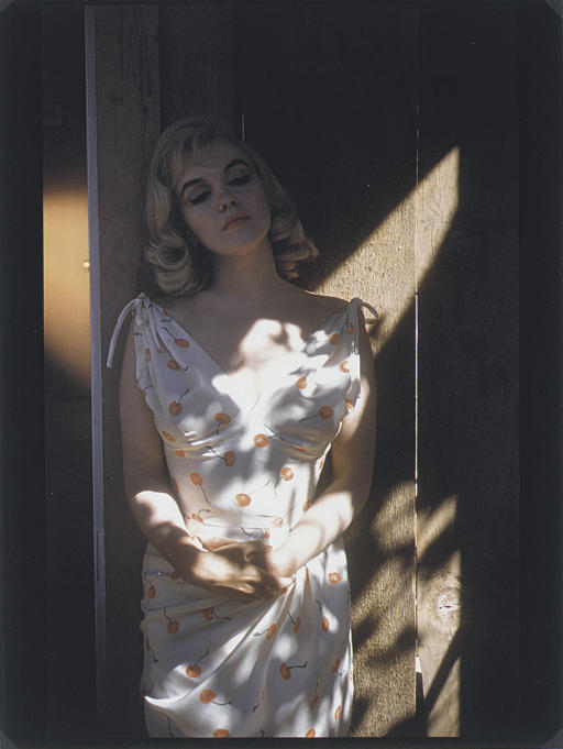Marilyn Monroe during filming of 'The Misfits', Nevada, 1960