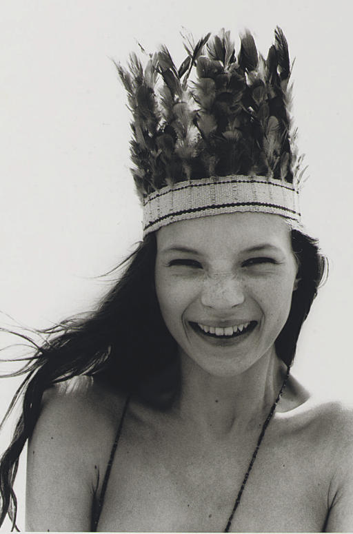 Kate Moss, 1990