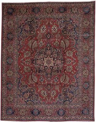 A Khoy Tabriz carpet, North-We