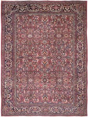 A Sarouk-Mahal carpet, West Pe