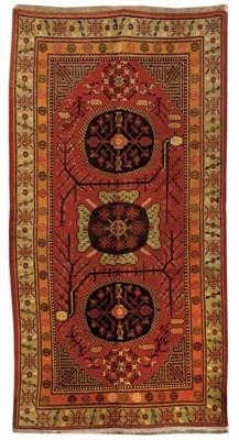 A Khotan kelleh, East Turkesta