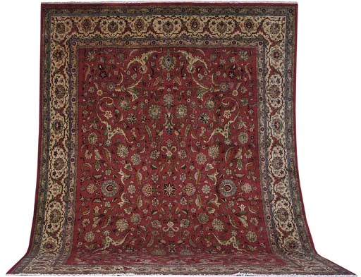 A fine Zareh Tabriz carpet, No