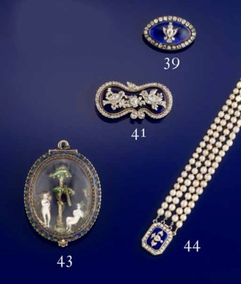 AN EARLY 19TH CENTURY PEARL, D
