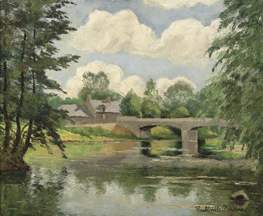 Le pont du Coudray, Clecy, Calvados