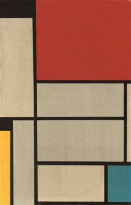 After Piet Mondrian (Dutch, 18