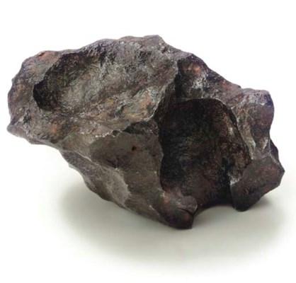 Gibeon meteorite and slice