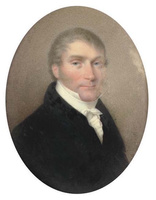 CHARLES BERNY D'OUVILLE, CIRCA 1820