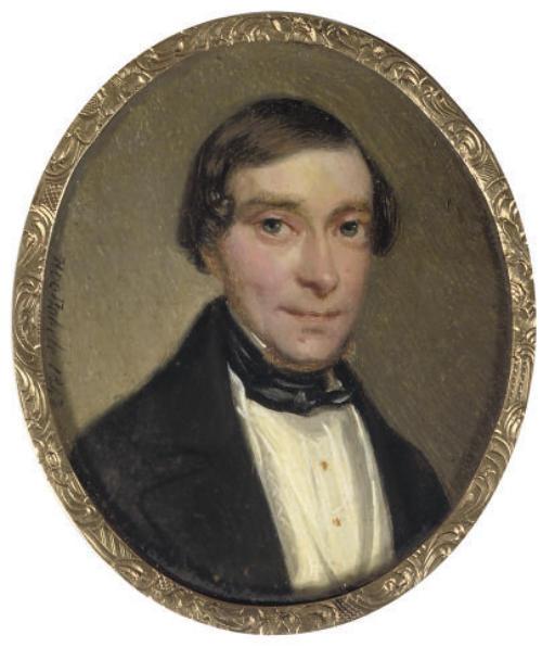 HENRI DE NOBELE, 1842