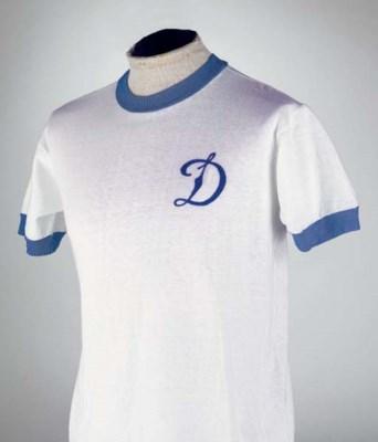 A WHITE AND BLUE DYNAMO KIEV S