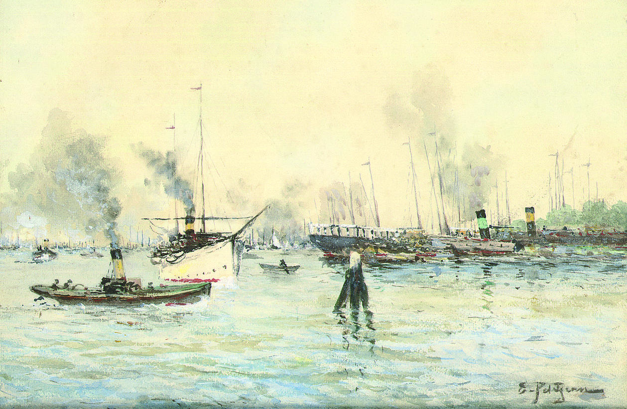 EDMOND MARIE PETITJEAN (FRENCH, 1844-1925)