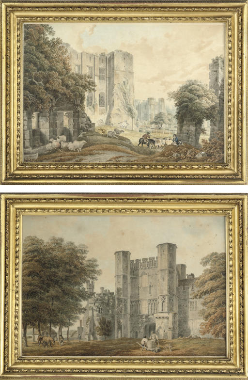 Battle Abbey Gate, Sussex; and Casars Tower and Kenilworth Castle, Warwickshire