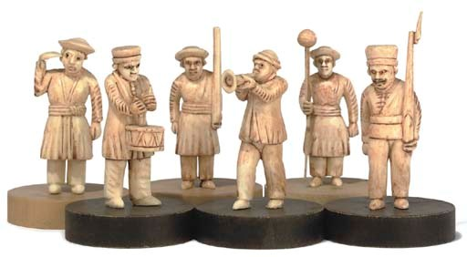 A GROUP OF THIRTY INDIAN CARVE