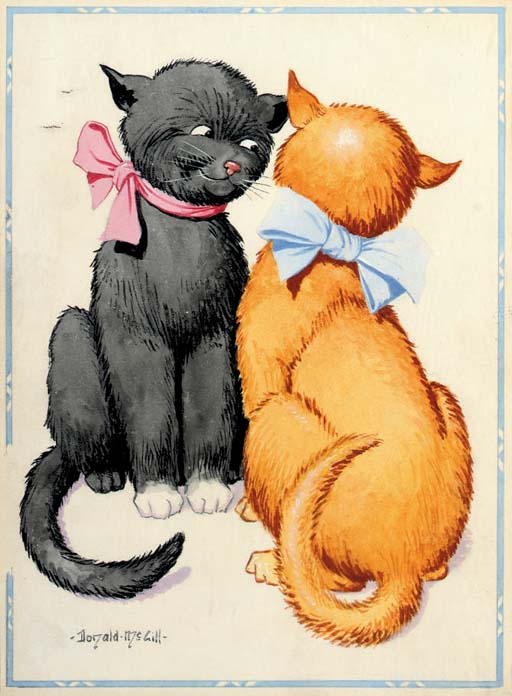 Feline flirtation