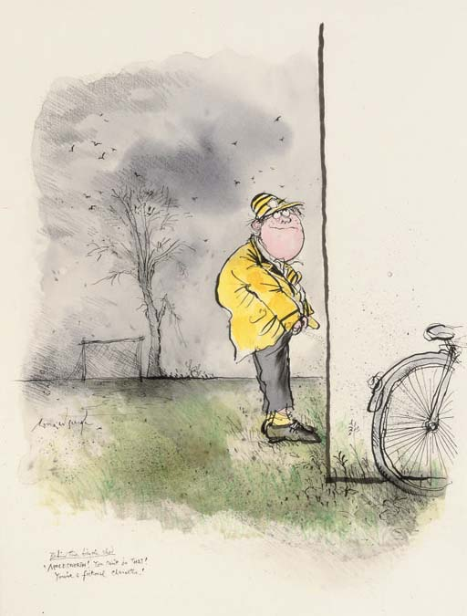 Behind the Bicycle Shed:  'Molesworth! You can't do that! You're a fictional character'