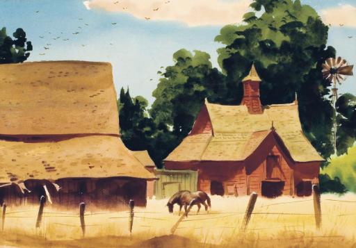 Old Barn, Pomona Valley