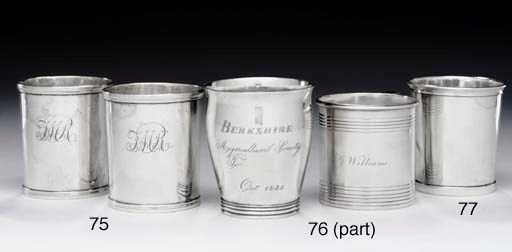 A SILVER BEAKER OF SOUTHERN IN