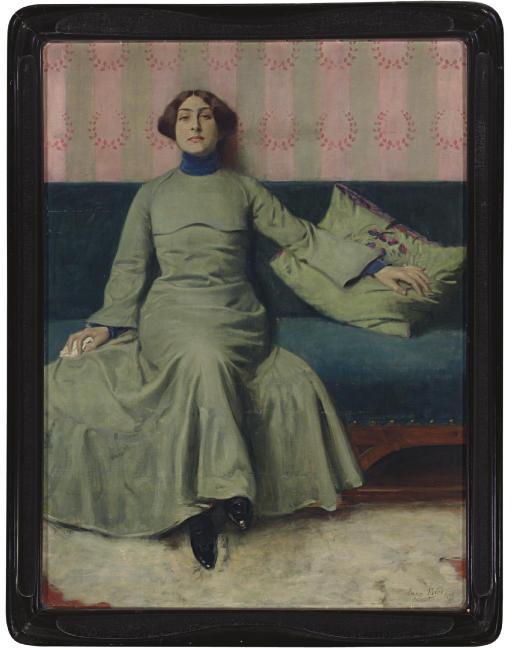 Portrait der Schwester des Künstlers (Baladine Klossowska)