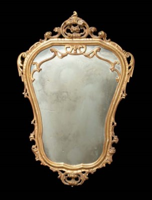 A BAROQUE STYLE GILWOOD WALL M