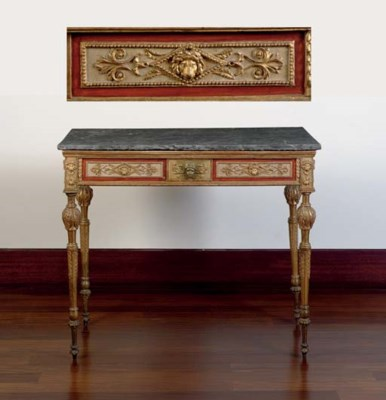 A NORTH ITALIAN GILTWOOD AND C