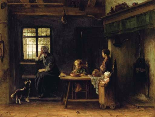 Jozef Israëls (DUTCH, 1824-191
