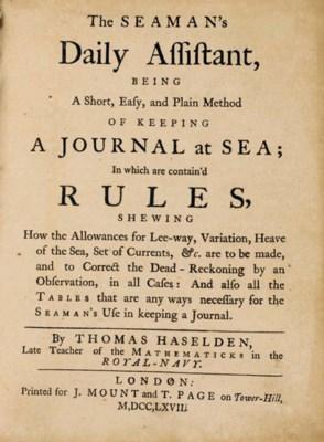 HASELDEN, Thomas (d. 1740). Th