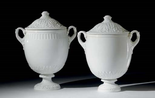 Two Russian porcelain vases an