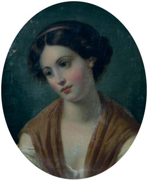 Portrait of Miss Fanny Rundle