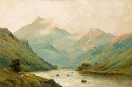 On the Glaslyn River, North Wales