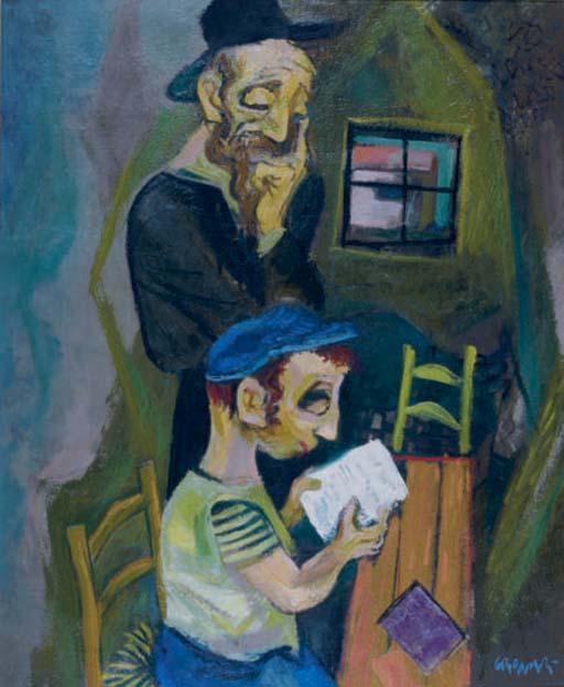 Rabbi and his pupil