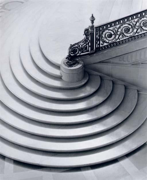 Spiral Staircase, San Francisco, California, 1953