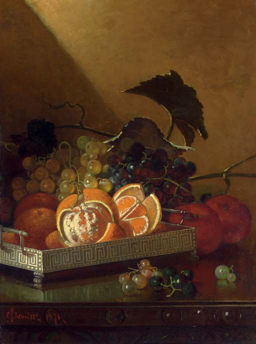 Still Life with Oranges, Grapes and Apples