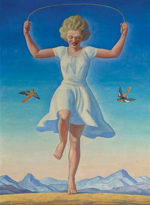Girl Jumping Rope