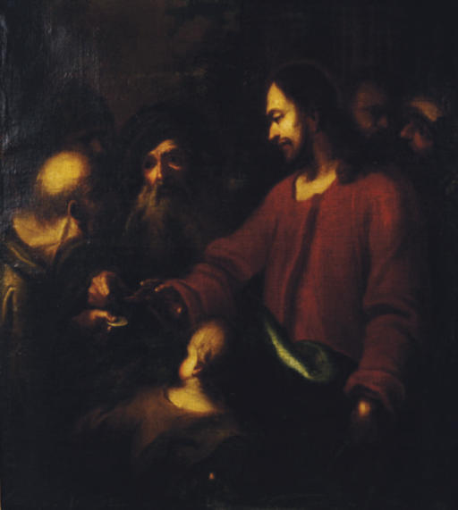 Christ driving the usurers from the temple