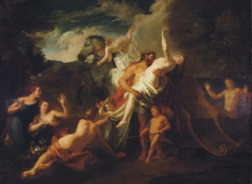 The Rape of Proserpine; and Neptune rescues Amymone