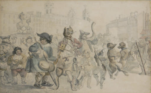 Charing Cross in the olden times