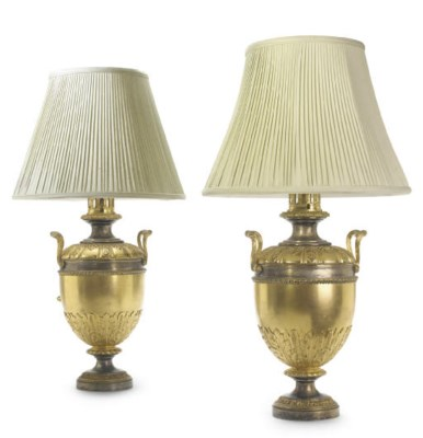 A PAIR OF WILLIAM IV SILVERED