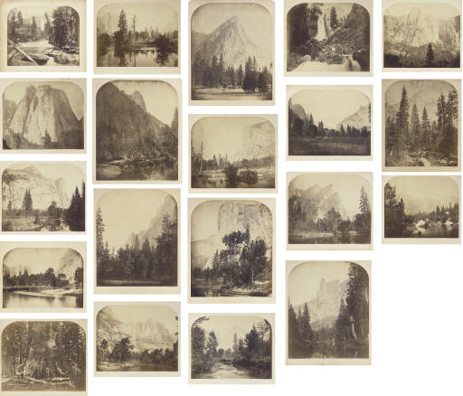 Selected images of Yosemite, 1861
