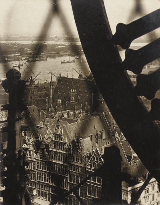Clock, Antwerp Cathedral, 1923