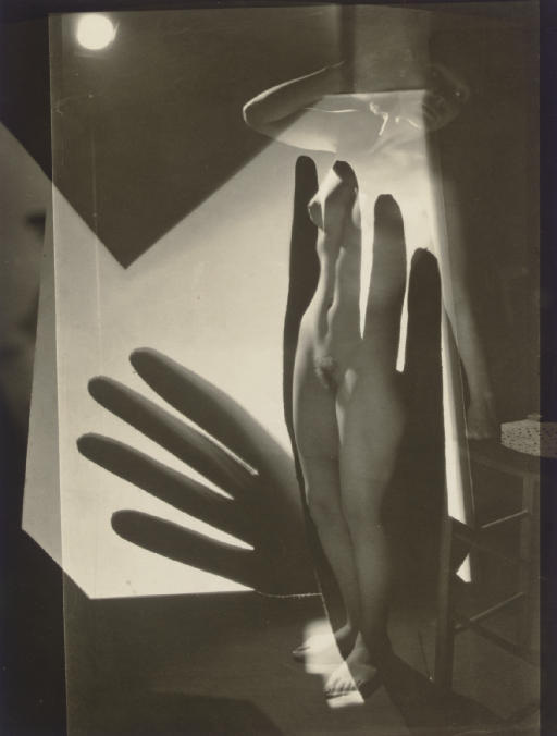 Composition (Nude, Montage with Gloves), 1929