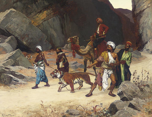 The Return from the Tiger Hunt