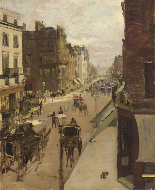 A Street Scene in London