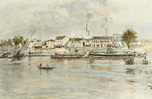 La Seine à Suresnes, Issy-les-Mouleneaux