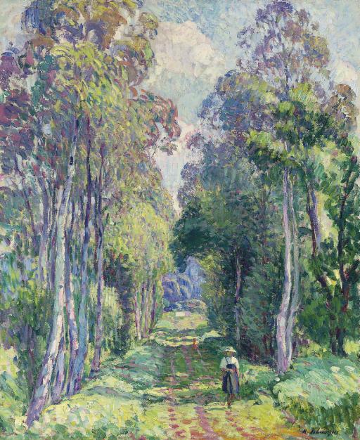 Pierrefonds, la promenade en forêt