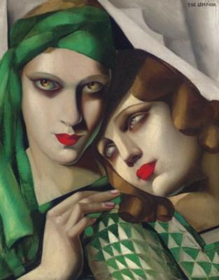 tamara de lempicka 1898 1980 le turban vert christie 39 s